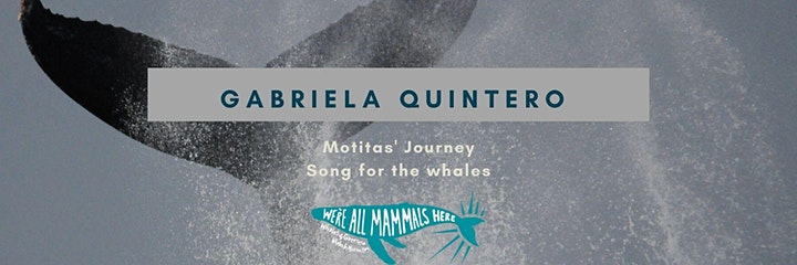 World Premiere by Gabriela of Motitas' Journey: A Song for the Whales image