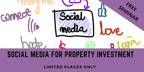 Social Media for Property Investors  - Free 1-Day Seminar tickets