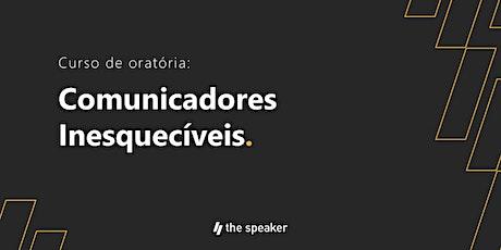 Copy of Comunicadores Inesquecíveis - Turma: Junho (Sábados) bilhetes