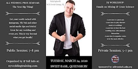 Social Media Seminar + DJ Workshop- Nick Spinelli tickets