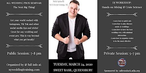 Social Media Seminar + DJ Workshop- Nick Spinelli