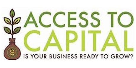Access to Capital Webinar tickets