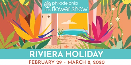Philadelphia Flower Show Motor Coach Trip tickets