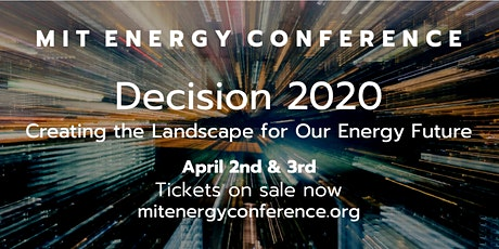 2020 MIT Energy Conference tickets