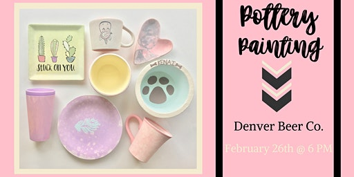 Pottery Painting at Denver Beer Company (Arvada)