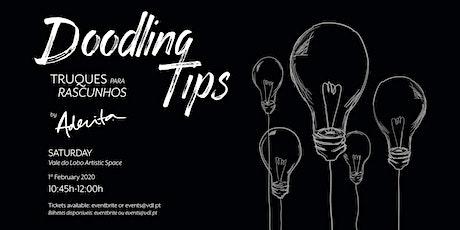 Doodling Tips Workshop by Aderita Silva tickets