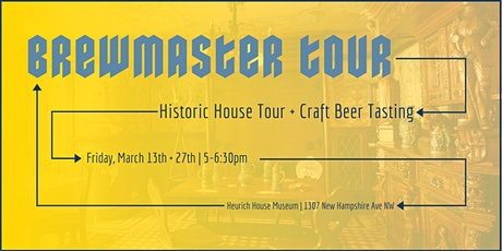 March Brewmaster Tours tickets