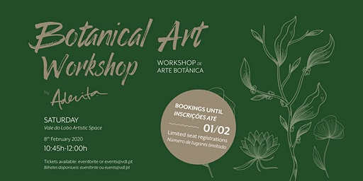 Botanical Art Workshop: create your own plant terrarium by Aderita Silva