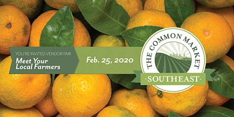 The Common Market Southeast Vendor Fair 2020 tickets