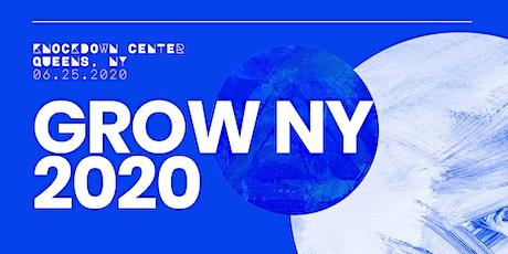 Grow NY 2020 tickets