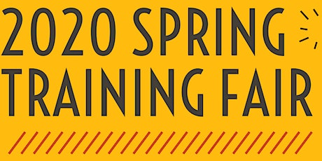 Community Works Project's 2020 Spring Training Fair! tickets