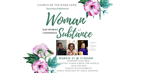 Women of substance 2020 conference
