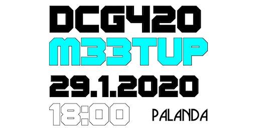 DCG420 MeetUp MMXX/I, Prague