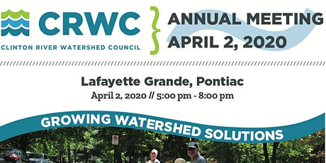 2020 Annual Meeting - Growing Watershed Solutions tickets