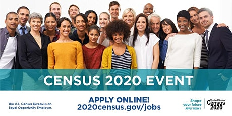 2020 Census Application Event -Marina tickets
