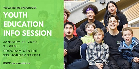 YWCA Youth Education Programs Info Session tickets