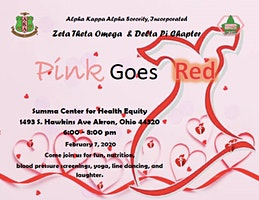Pink Goes Red (a collaboration w/Delta Pi Chapter)