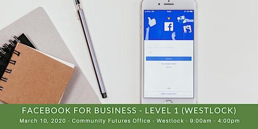 Facebook for Business - Level I (Westlock)