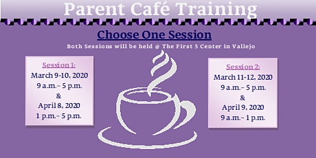 Parent Cafe Training tickets