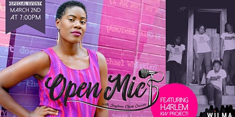 Open Mic with Jaylene Clark Owens & Harlem Killer Whale Project tickets