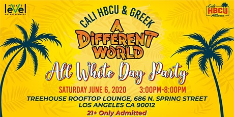 CALI HBCU & GREEK ALL WHITE DAY PARTY tickets