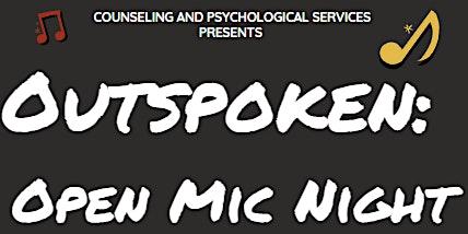 Outspoken: An Open Mic Night Event