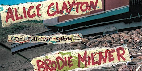 Brodie Milner and Alice Clayton Co Headline at Warren Records Store tickets