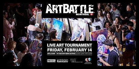 Art Battle Montréal - 14 Février, 2020 billets