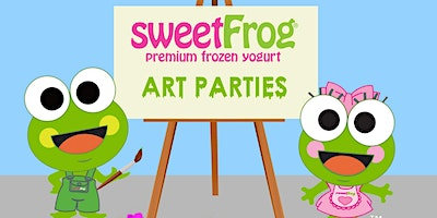February's Paint Party at sweetFrog Woodmore