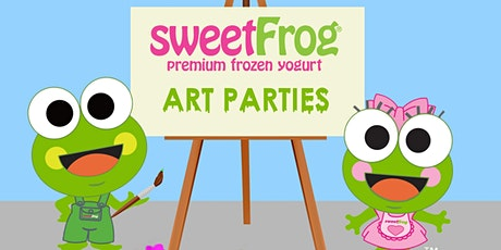 February's Paint Party at sweetFrog Woodmore tickets