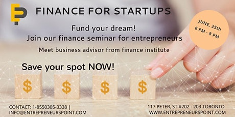 Finance Your Startup (Online) tickets