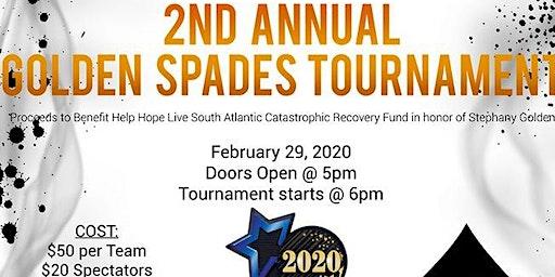 2nd Annual Golden Spades Tournament