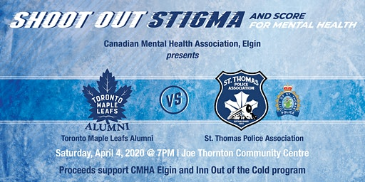Shoot Out Stigma and Score for Mental Health 2020