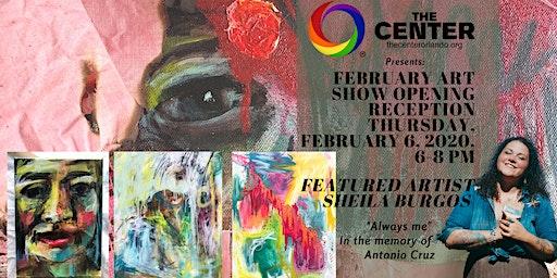 "February Art Show featuring Sheila Burgos ""Always Me"""
