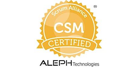Certified Scrum Master® Workshop (CSM®) – Herndon, Virginia (VA) - Aakash  tickets