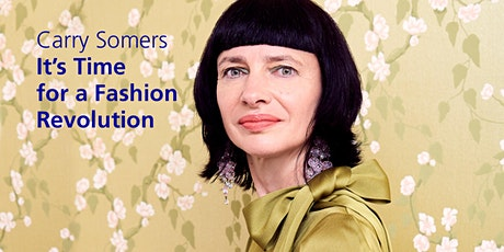 Conferencia Carry Somers    It's Time for a Fashion Revolution entradas