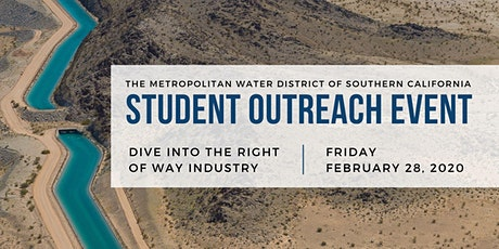 Metropolitan Water District Student Outreach 2020 (Real Property) tickets