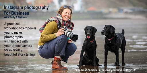 Instagram Photography for Business - Workshop with Photographer Polly A Baldwin