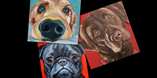Paint Your Pet! Glen Burnie, Sunset Restaurant with Artist Katie Detrich!