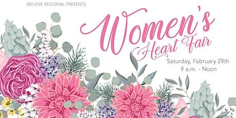 Women's Heart Fair tickets
