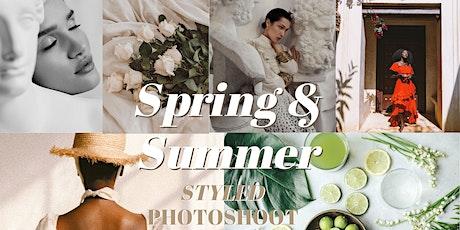 Spring & Summer Styled Photoshoot Workshop 2020 tickets