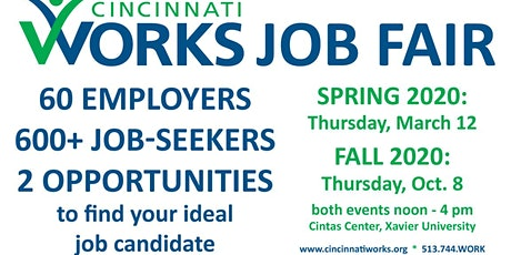 Cincinnati Works 2020 Job Fairs tickets
