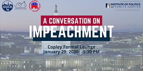 A Conversation On Impeachment tickets