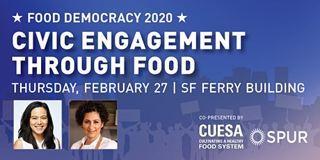 Food Democracy 2020 | Civic Engagement Through Food tickets