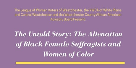 The Untold Story of the Women's Suffrage Movement tickets