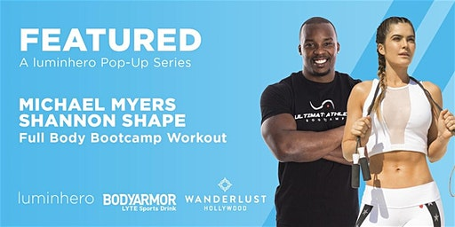 FEATURED Pop Up Workout Series - Michael Myers X Shannon Shape Bootcamp