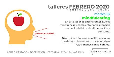 taller MINDFULEATING: ALIMENTACIÓN CONSCIENTE entradas