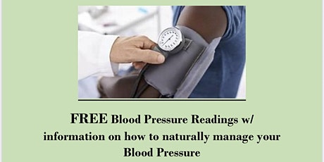 Natural Ways To Manage Your Blood Pressure tickets