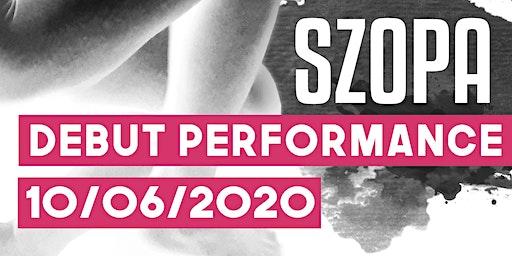 Szopa LIVE - Debut Performance