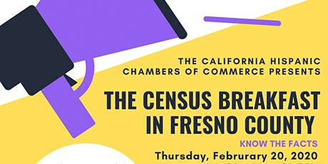 The Census Breakfast in Fresno County tickets